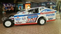 Stop by the Rotterdam mall and check out the race cars!
