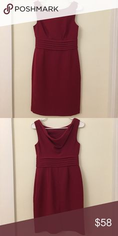 Banana republic dress 0p NWOT -- never been worn. The draped back side made it easy to go from office to parties. Banana Republic Dresses