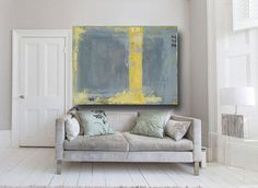 Abstract Painting large abstract art acrylic by CherylWasilowArt