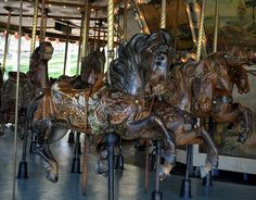 Griffith Park merry-go-round by sjb5, via Flickr