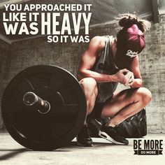 That was my mistake on my last snatch. Most truest words ever!