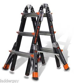 Other Wholesale Tools 46772: 13 1Aa Fiberglass Little Giant Dark Horse Ladder 15143 -> BUY IT NOW ONLY: $395.99 on eBay!