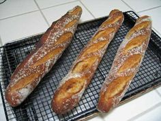 Anis Bouabsa's baguettes | The Fresh Loaf