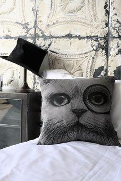 Rory Dobner Cheshire Cat Cushion