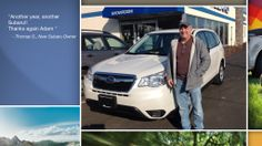 Dear Thomas Sanson   A heartfelt thank you for the purchase of your new Subaru from all of us at Premier Subaru.   We're proud to have you as part of the Subaru Family.