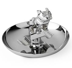 Buy the Chrome-Plated Bulldog Cigar Ashtray at SIR JACK'S. Find the latest one-of-a-king vintage pieces and the finest in clothing, luxury accessories and style for men at SIR JACK'S.