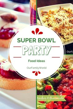Get ready for the big game with our perfect Super Bowl party food ideas! Includes a mix of healthier snacks and your favorite once-a-year indulgences!