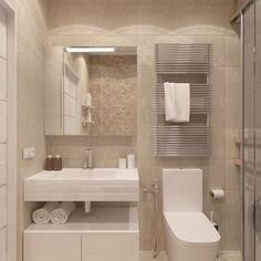 Amazing DIY Bathroom Ideas, Bathroom Decor, Bathroom Remodel and Bathroom Projects to help inspire your bathroom dreams and goals. Bathroom Design Luxury, Bathroom Layout, Modern Bathroom Design, Modern Interior Design, Small Bathroom, Bathroom Ideas, Bathroom Cabinets, Master Bathrooms, Washroom