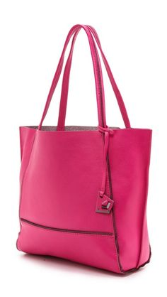 slouchy pink leather tote http://rstyle.me/n/usrvrr9te