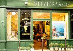 Olive Oil Shop in Paris, France