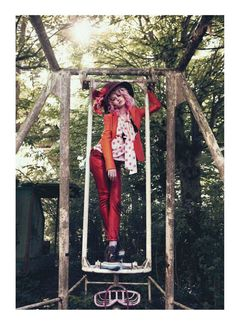 She's a Rainbow – Charlotte Free exemplifies stylish whimsy for Paul Schmidt's latest work in Jalouse's June issue. Wandering the woods, Charlotte looks like she just escaped from a Tim Burton film in stylist Anne Sophie Thomas' colorful, stripey selects. source | Psylocke @ TFS Enjoyed this update?Stay up to date, and subscribe to our …