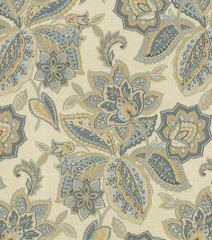 Home Decor Upholstery Fabric-Waverly Treasure Trove / Sapphire
