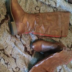 Riding Boots Worn three times. They are in good condition just I can't wear no more Not Rated Shoes Over the Knee Boots