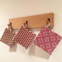 いいね!35件、コメント2件 ― Polite〜handmade〜さん(@noriko_nakashima_)のInstagramアカウント: 「#キッチンに掛けても可愛い こちらは赤シリーズ♪」