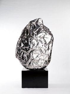 Zhan Wang  Scholar Rock  44.5 x 33.5 x 31.5''   Stainless Steel