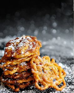 Juneberry Lane: FROSTED: It's Not Fair...Without the Sweets!!  Funnel cake :)