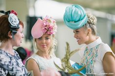 Racing fashion at the Caulfield Cup horse racing carnival Melbourne Australia 2013