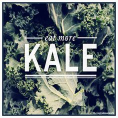KALE! It's in season AND it's possibly one of the healthiest winter foods around. learn more here:: fb.com/melissamissfit