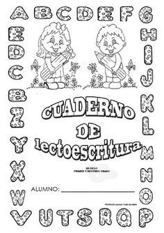 Bilingual Education, Classroom, Teacher, Journal, Notebook, School, Alphabet, Word Reading, Learning Letters
