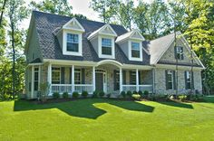 Love Cape cod style homes!!! #customhomes www.HomeChannelTV.com