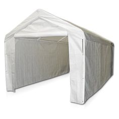 Carports - Sports 10x20 Domain Carport Garage SidewallEnclosure Kit Frame and Top Not Included23600 x 11700 x 10400 Inches ** Be sure to check out this awesome product. (This is an Amazon affiliate link)