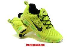 Nike Free Powerline II Mens Volt Gradual Change Black 555306 200        #Volt  #Womens #Sneakers