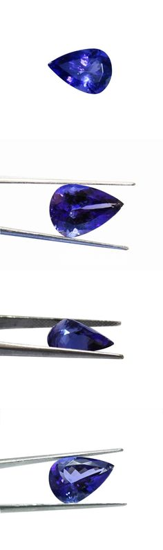 Tanzanite 4195: Fantastic Natural Pear Shape 5.20 Carat Tanzanite Aaa+ Loose Stone -> BUY IT NOW ONLY: $1650 on eBay!