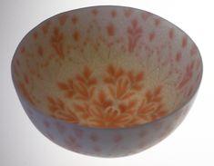 DOROTHY FEIBLEMAN BOWL 95  Soft paste porcelain, nerikomi technique