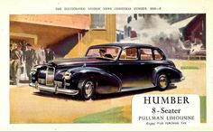 Image result for Humber car ads images