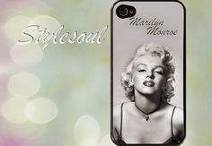 Marilyn Monroe iPhone 4 Case iPhone 4s Case iPhone 5 by stylesoul, $14.99
