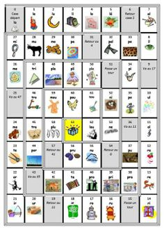 Jeu de l'oie des sons et des syllabes Reading Games, Reading Groups, Teaching Reading, Fun Learning, Read In French, French Class, Learn French, French Education, Phonological Awareness