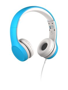 LilGadgets Kids Premium Volume Limited Wired Headphones with SharePort (Children, Toddlers) - Blue Kids Gadgets, Over Ear Headphones, Toddlers, Connect, Image Link, Note, Amazon, Children, Awesome