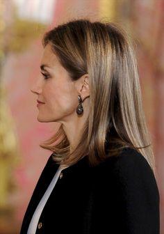 Queen Letizia of Spain Photos: Spanish Royals Receives Senegal President