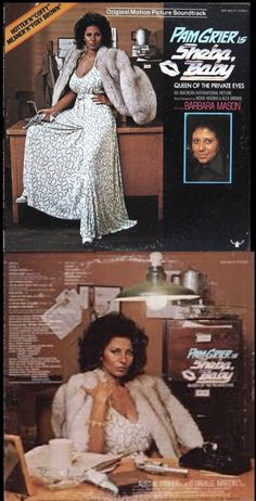 Pam Grier, Foxy Brown, Private Eye, Soundtrack, Lp, Sequin Skirt, March, The Originals, Baby