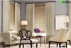 Gardiner design - 50 bilder av gardiner, velger de originale gardiner for rommet
