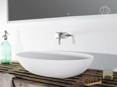 Håndvaske: Norsjö oval håndvask