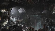 """The Genii underground bunker -- truly beautiful Production Design/VFX! Underground Bunker, Underground Cities, Matrix, Stargate Atlantis, Koi, Darth Vader, The Unit, Design, Inspiration"