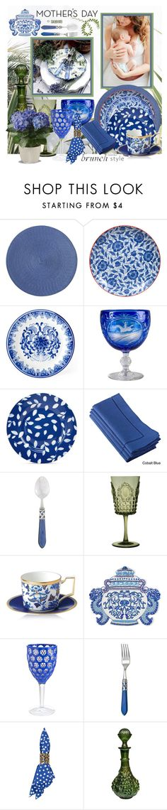 """""""Mother's Day Brunch"""" by menina-ana ❤ liked on Polyvore featuring interior, interiors, interior design, home, home decor, interior decorating, Pier 1 Imports, Tokyo Design Studio, Martha Stewart and Saro"""