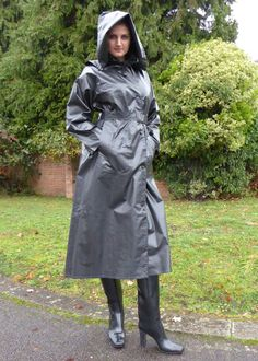 Skin Two Clothing Womens Jacket Coat in Rubber