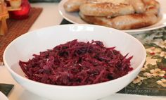 German Braised Red Cabbage from @Erica Schweiger-recipes