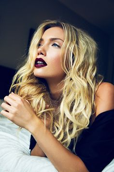 dark lips for fall...