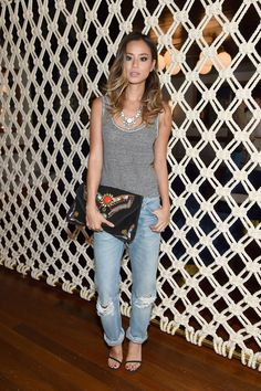 Jamie Chung attends the Gant Rugger presentation during Mercedes-Benz Fashion Week Spring 2015 on Sept. 5, 2014, in New York City. Getty -Cosmopolitan.com