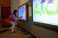 Birmingham Museum of Art children's interactive art gallery by Phillip Yonfa at Coroflot.com
