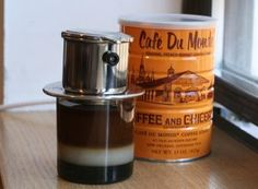 Vietnamese coffee at home