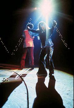 Cantora americana Janis Joplin executa em palco no Woodstock Music and Arts Fair em Bethel New York 17 agosto de 1969