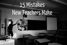 I've had the pleasure of working with a lot of new teachers the past six years, and I've seen many of the same mistakes I made during my first year teaching repeated over and over. Teaching was…