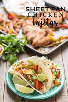 Make dinnertime a breeze with these delicious and simple Sheet Pan Chicken Fajitas. Your family will love them and you'll love how easy they are to prepare.