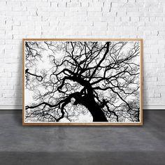 Abstract Tree Print Tree Wall Decor Scandinavian Art Tree
