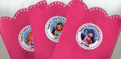Winx Club Fairy Birthday Party Goodie Favor Bags Set by PartyBees, $12.00