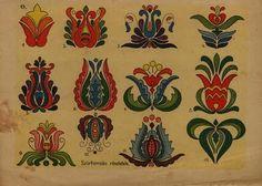 Hungarian Folk Art Matyo Kalocsai Etc Tattoo Design Hungarian Embroidery, Folk Embroidery, Learn Embroidery, Embroidery Patterns, Flower Embroidery, Folklore, Chain Stitch, Cross Stitch, Bordado Popular